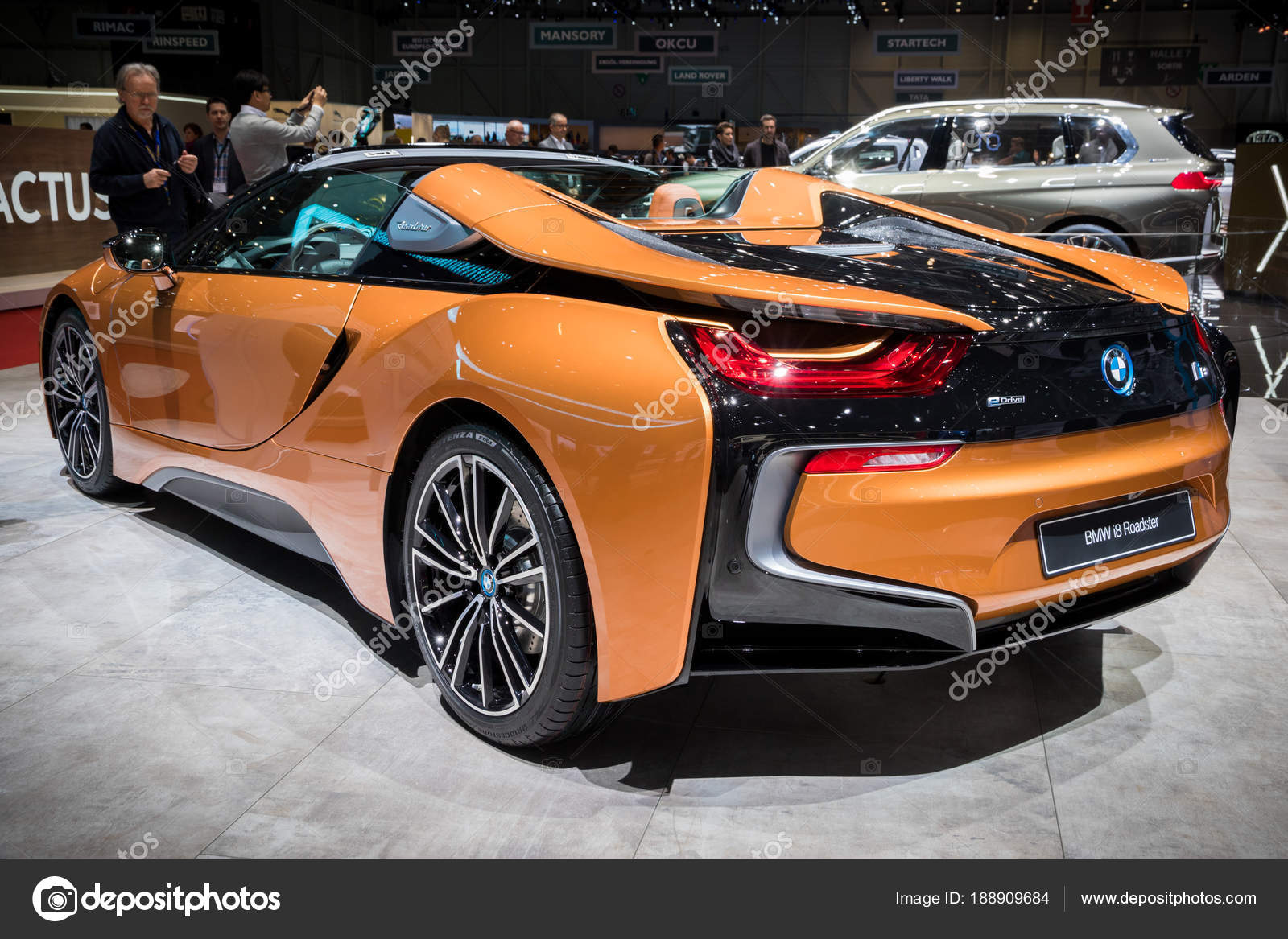 Bmw I8 Roadster Sports Car Stock Editorial Photo C Foto Vdw 188909684