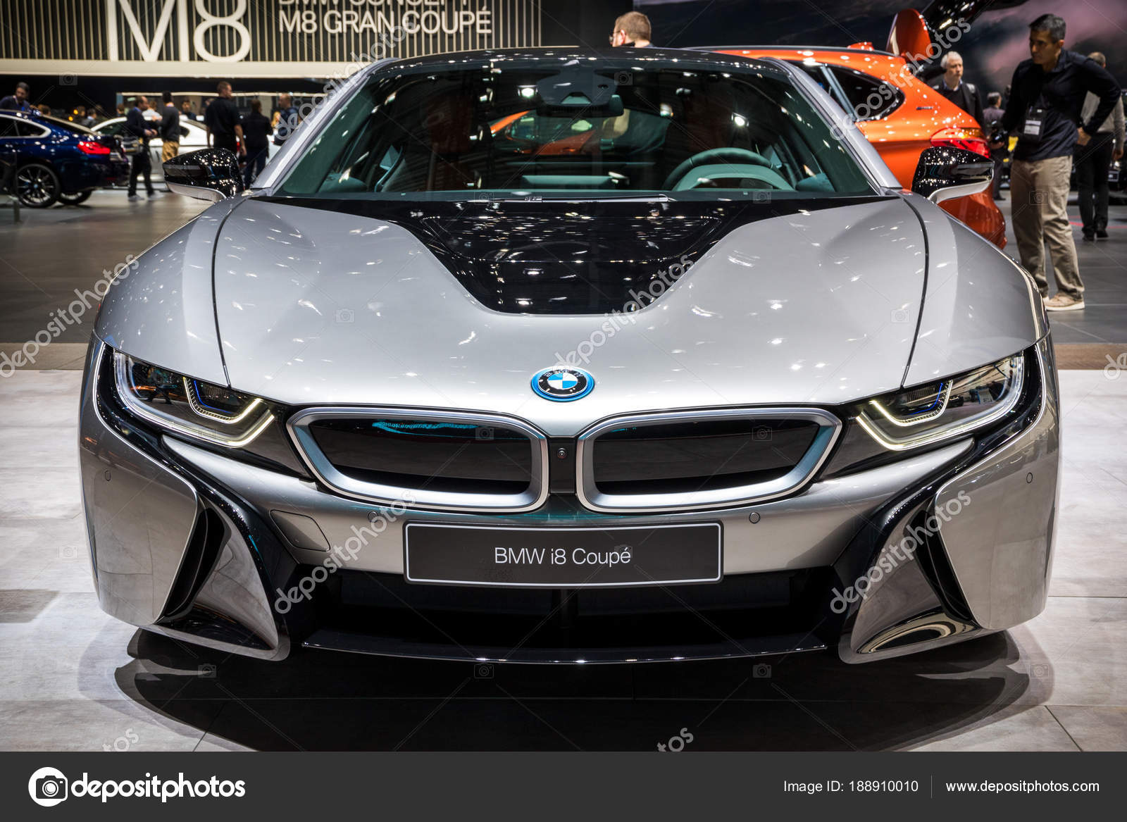 Bmw I8 Coupe Sports Car Stock Editorial Photo C Foto Vdw 188910010
