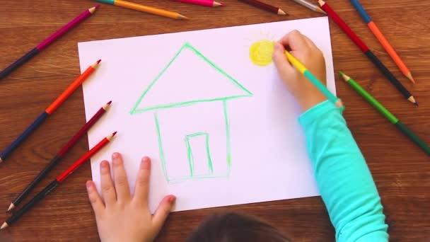 a gyermek rajz.