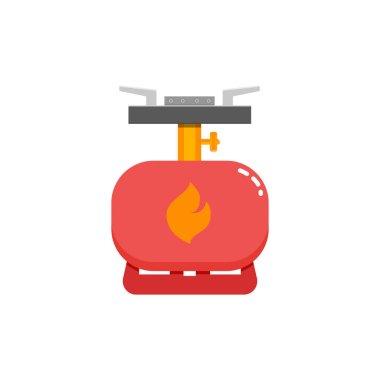 Tourist heater icon.