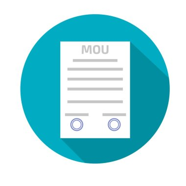 Memorandum of understanding MOU, icon