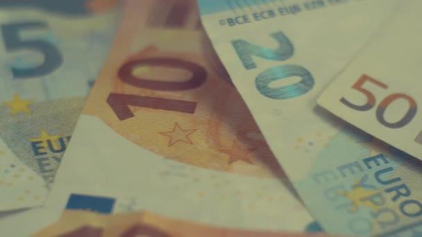 Euro Eur bankovky - 4k