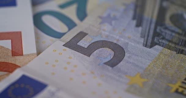5 údajů o eurobankovkách zblízka Eur měna