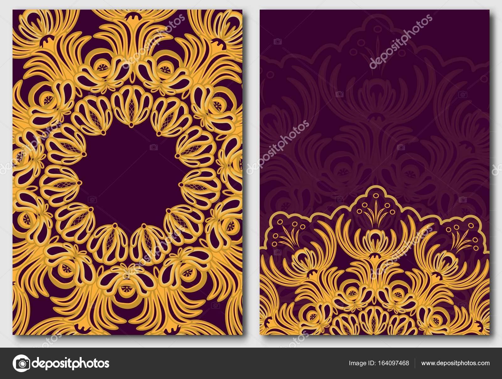 Vorlagen für die Gestaltung Einladungen und Glückwunschkarten. Blume ...