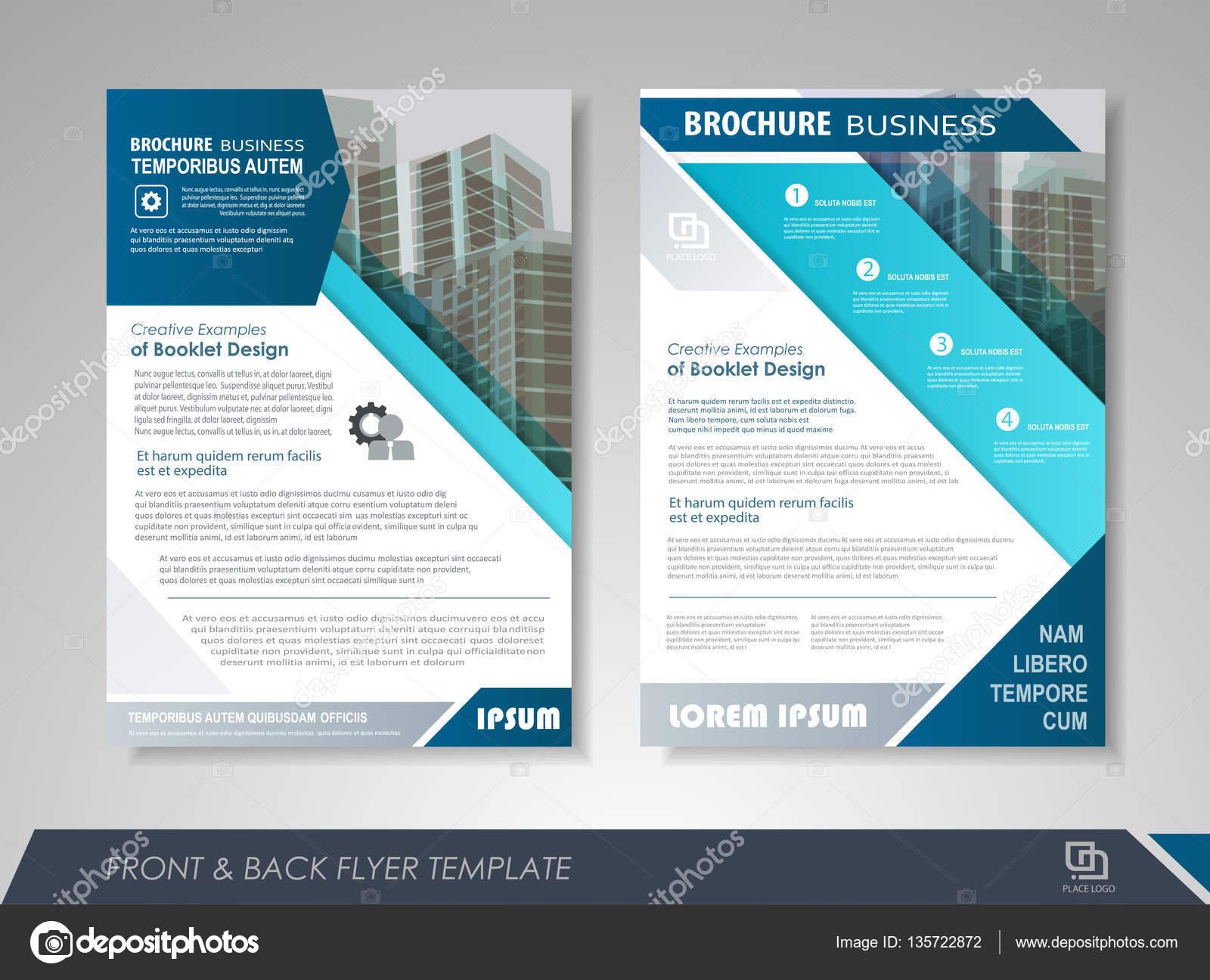 Brochure Design Report Stock Vector C Stekloduv 135722872