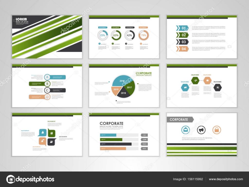 infographic business brochures stock vector stekloduv 156115992