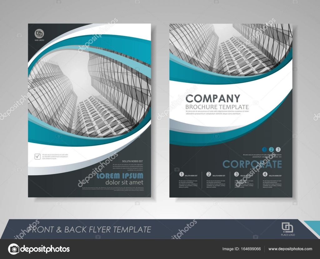 Brochure Design Template Stock Vector Stekloduv - Brochures design templates