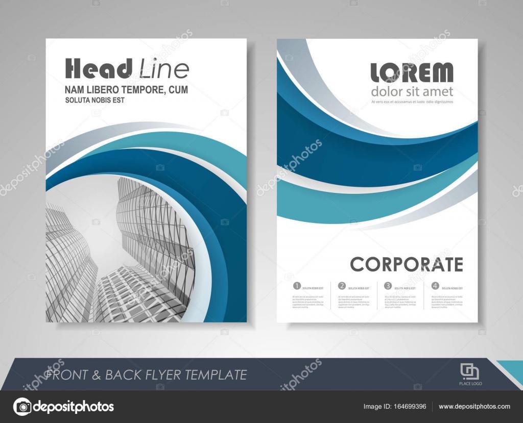 Business Brochure Template Stock Vector Stekloduv 164699396