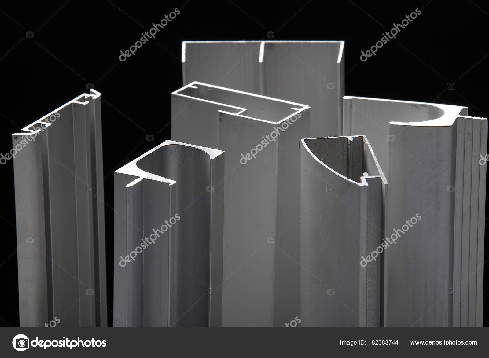 Profil Aluminium Pour Fen Tres Portes Bo Tes Salle Bain