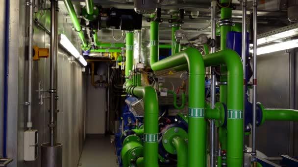 Maschinenraum Biogaskraftwerk