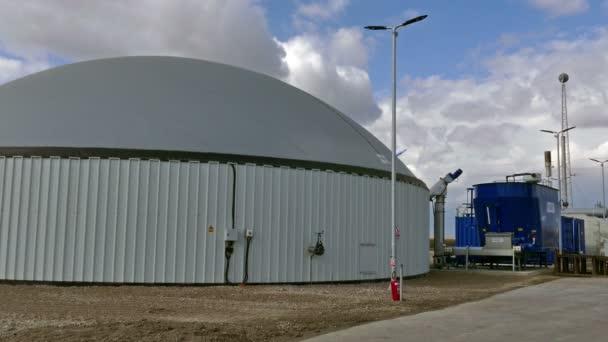 Anlage zur Produktion von Biogas