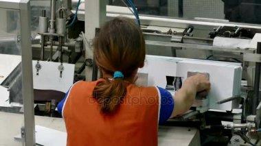 Packaging machines nylon stockings