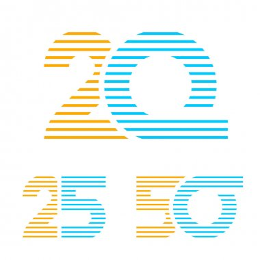 20 25 50 anniversary line number