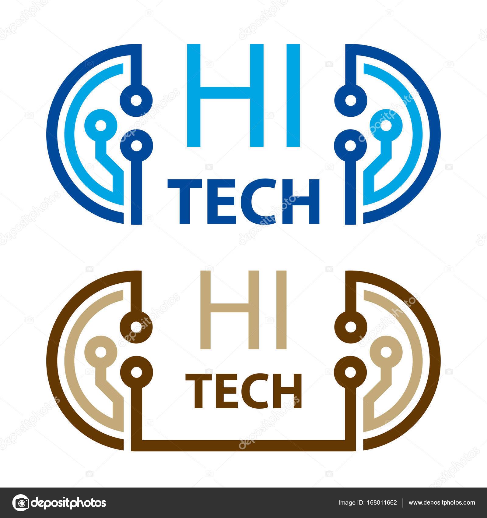 Hi Tech Electronic Circuit Symbol Stock Vector Happyroman 168011662 Symbols Commonly Used
