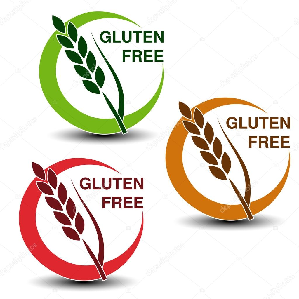 Gluten free symbols stock vector renadesign 125734804 vector illustration of gluten free symbols isolated on white background vector by renadesign biocorpaavc Images