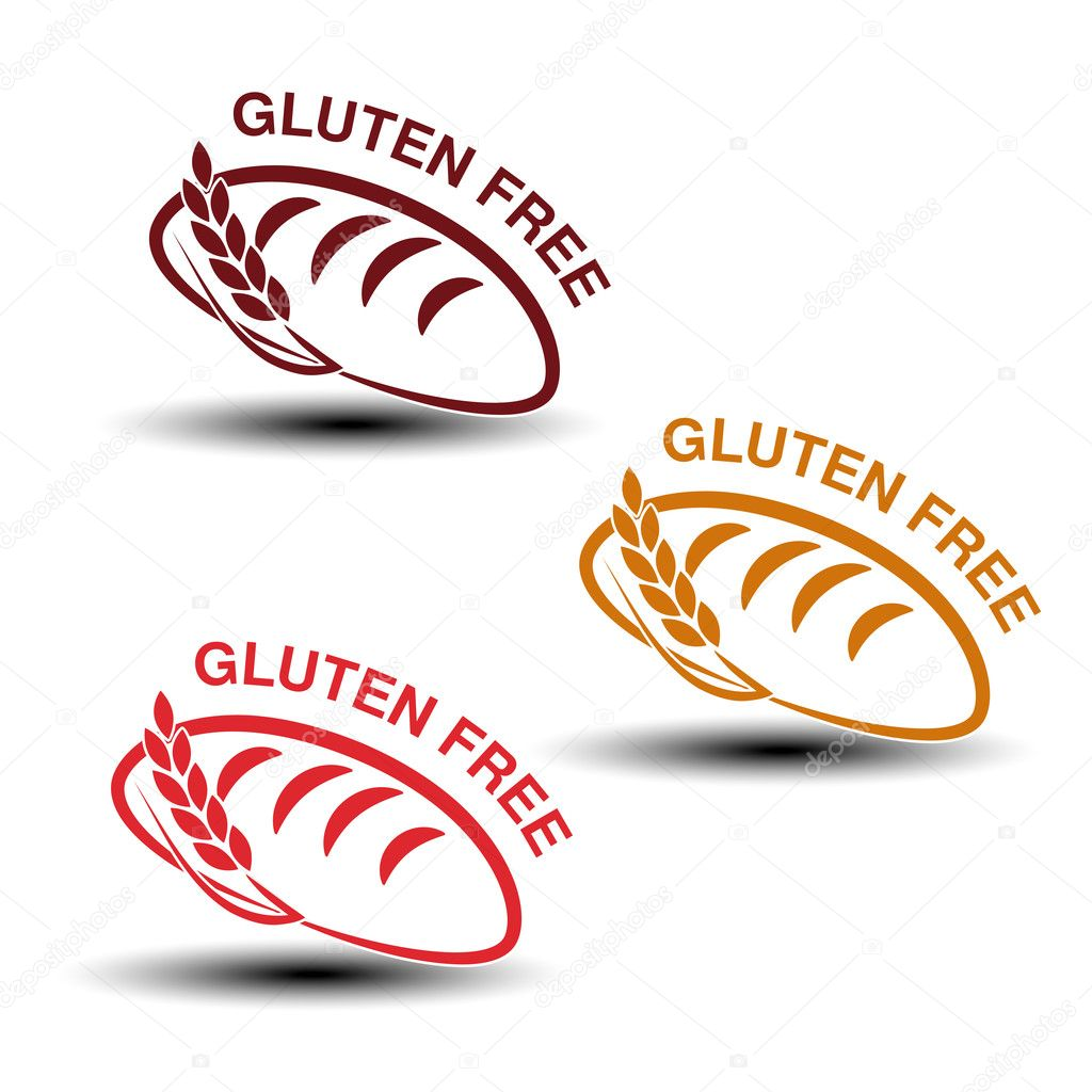 Gluten free symbols stock vector renadesign 127313332 vector illustration of gluten free symbols isolated on white background vector by renadesign biocorpaavc Images