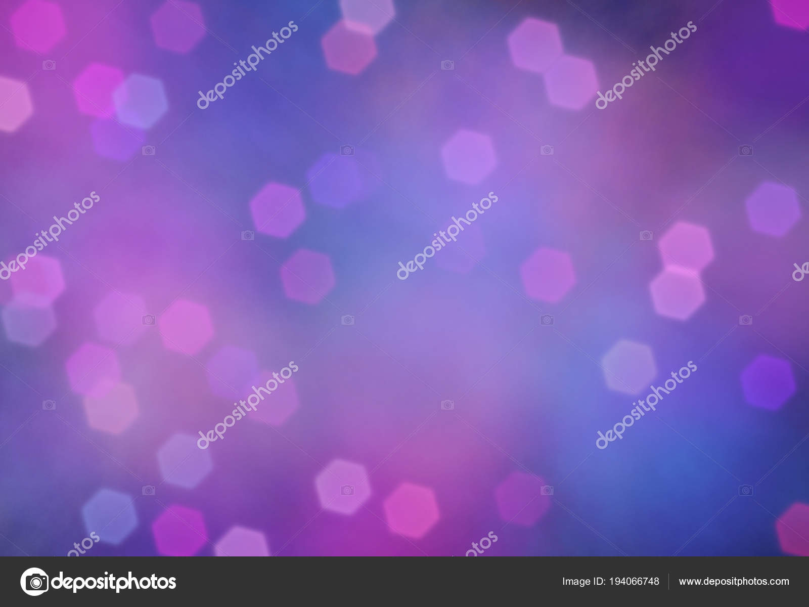Abstract Background Bokeh Effect Holiday Decoration Design Template