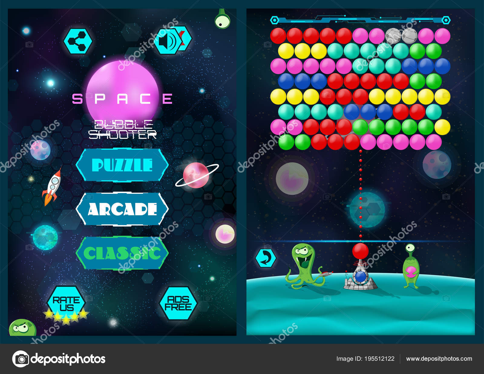 free download bubble shooter game for mobile