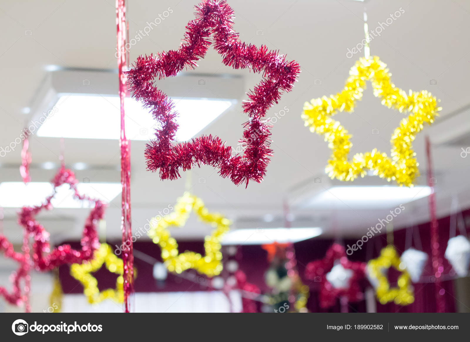 Decorazioni Natalizie Per Ufficio.Decorazioni Natale Ufficio Foto Stock C 0635925410 189902582