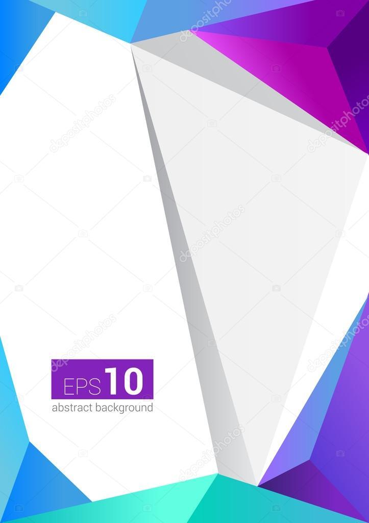 modele de lettre vierge Flyer moderne abstrait vector / brochure / lettre / vierge / cover  modele de lettre vierge