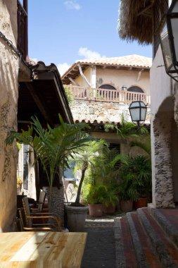 Old village in Dominican republic Altos de Chavon