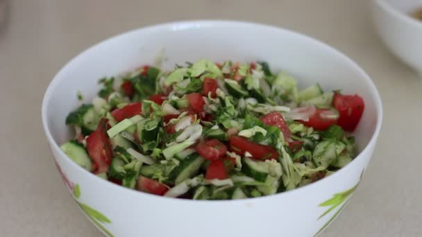 Microgreens salad with sprouted wheat grains. Health and diet