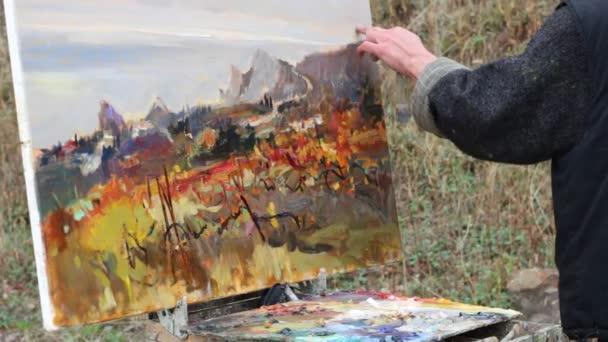 Artiste Professionnel Dresse Portrait Sur