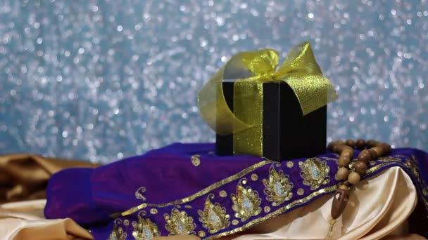 Ramadan Kareem! Iszlám Giveaways. Csokoládé ajándék doboz a gyermekek számára. Etnikai tervez
