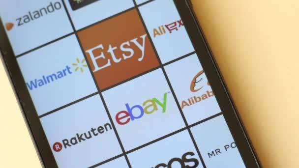 Walmart Stock Phone Number >> Ebay Mobile Commerce Amazon Ebay Alibaba Aliexpress Asos Zalando Walmart Rakuten Groupon Flipkart Etsy Mr Porter