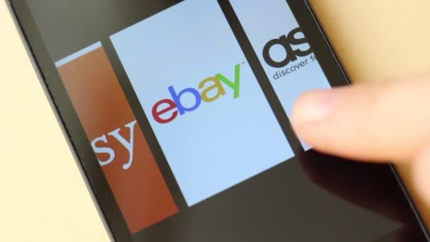 2dc97a2de8ed4 Aliexpress Komerce Transakce Nákupu Prodeje Online Amazon Ebay Alibaba Asos  — Stock video