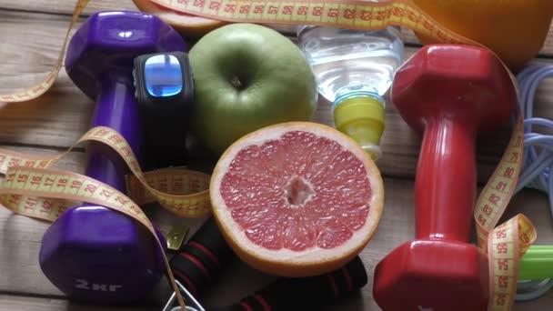 Koncept zdravého životního stylu, sportu a dieta