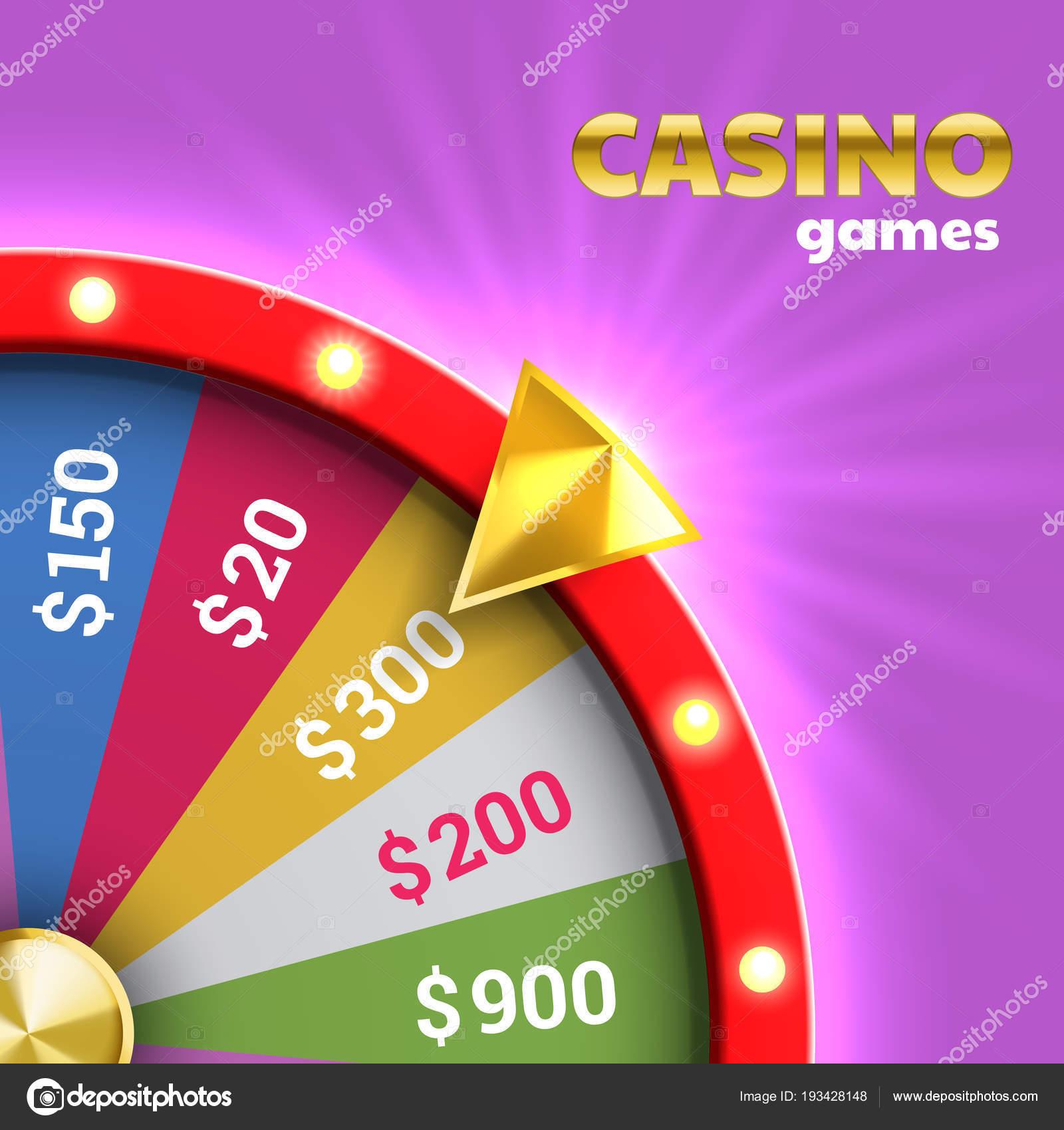Roue De La Roulette De La Fortune Pour Le Jeu De Loterie