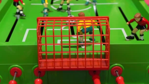 Mesa De Futbol Juego De Mesa Para Ninos Lenta Videos De Stock