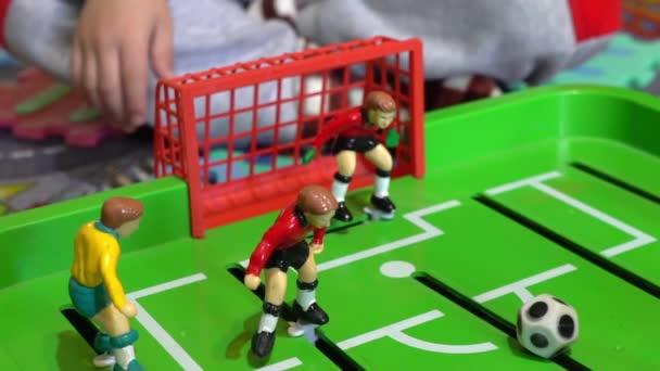 Mesa Futbol Juego Mesa Para Ninos Lenta Videos De Stock