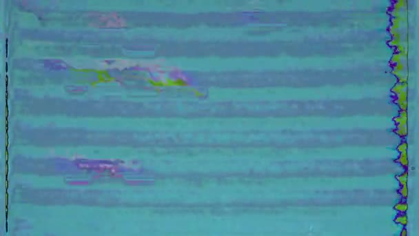 Hiba zaj statikus televíziós VFX. Nincs térerő. Régi tévé. Hibás videokárosodás. Rossz jel. VHS. Retro futurizmus 80-as évek 90-es évek dinamikus hullám stílus. Digitális TV zajok villognak. Videó háttér. Szüret