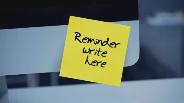 Sticky notes. Reminder write here. Message on the monitor. Space for text. List of important cases. A message for an employee, a colleague. Place for the inscription. For tracking. Isolated.