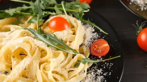 Traditional tagliattele italian pasta