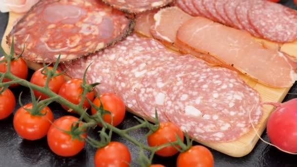 Antipasti-Fleisch-Vorspeisen