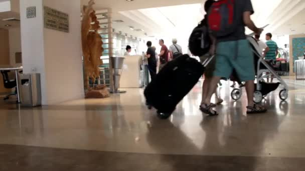 Ordinaire Lobby And Front Desk In The Modern Hotelu2013 Stock Footage