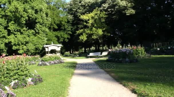 Dahlia Park v Baden-Badenu. Německo