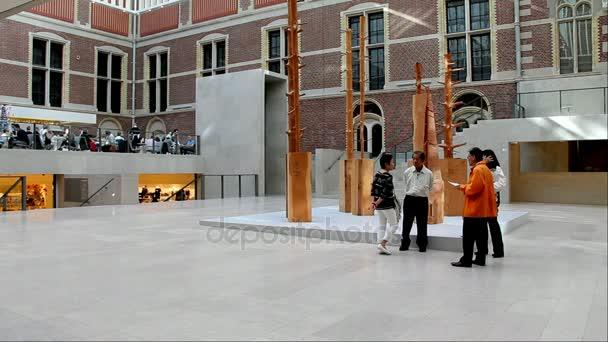Nationaal Museum inkomhal interieur. Amsterdam, Nederland ...