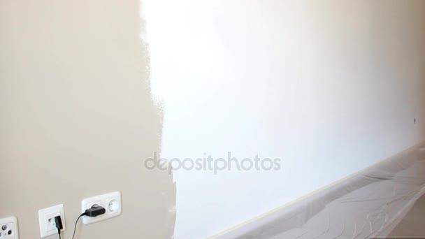 Murs Peinture Acrylique Beige Sur Fond Blanc