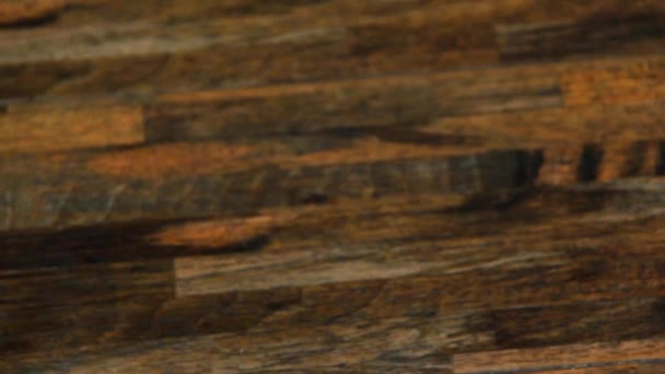 Blur View of Brown Parquet Background or Texture