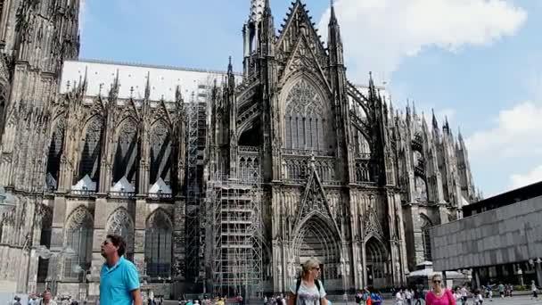 römisch-katholisch-gotische Kathedrale von Köln