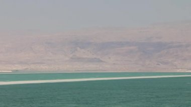 Dead sea landscape at the spring