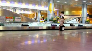 Receiving Baggage at the Ben Gurion International Airport