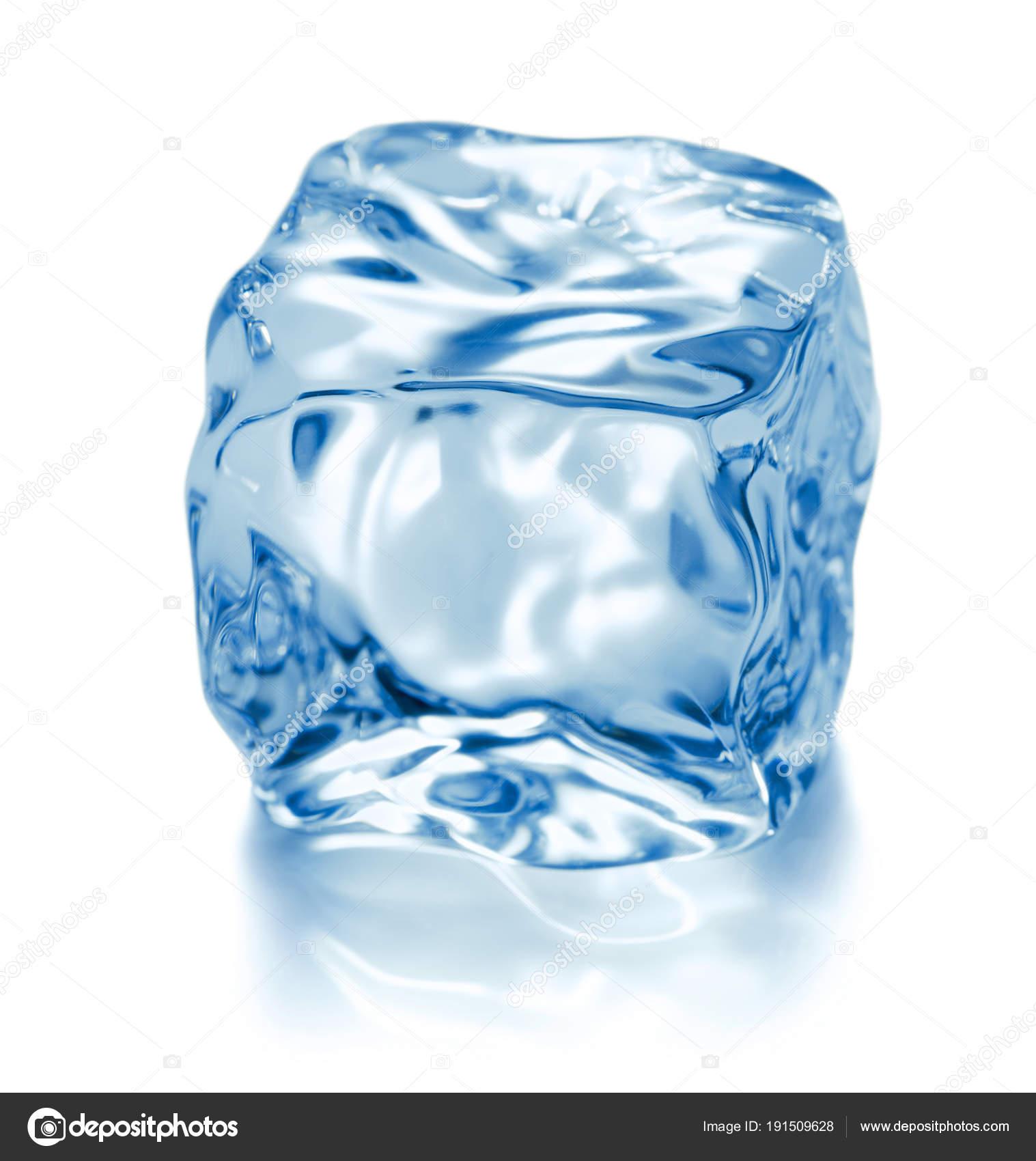 super cheap uk store picked up Single Ice Cube Isolated White Background — Stock Photo ...
