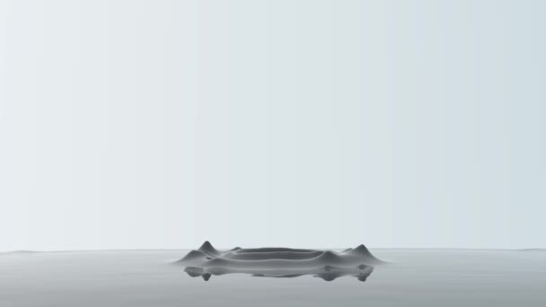 goccia cade in acqua