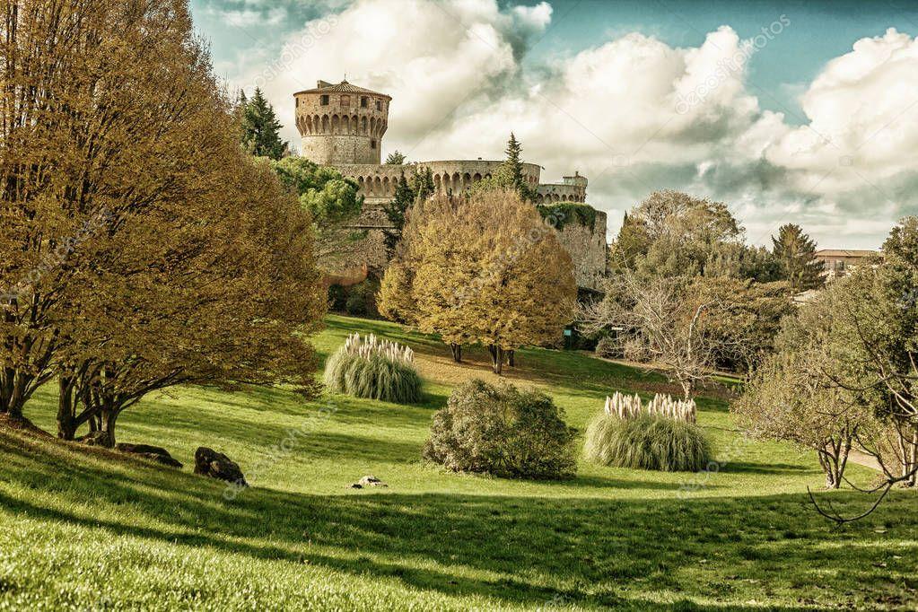 Medici fortress, Volterra (HDR)