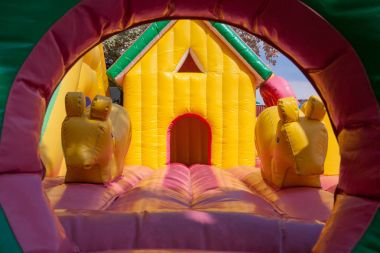 Inflatable toy house for kids